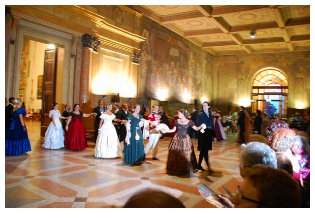 18th century dances in Bologna, Italy