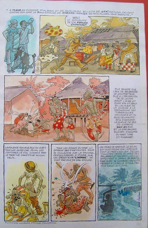 Fumetti africani - Bilbulbol Bologna 2007