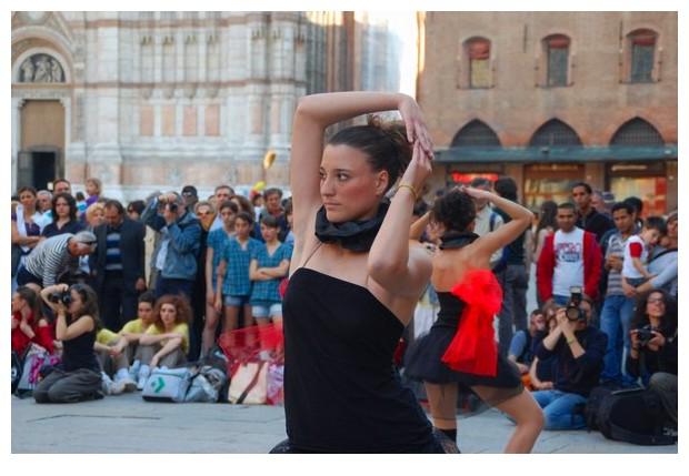 World dance day in Bologna, 2010