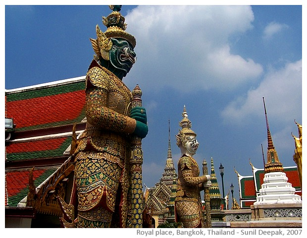 Royal Palace, Bangkok, Thailand - images by Sunil Deepak