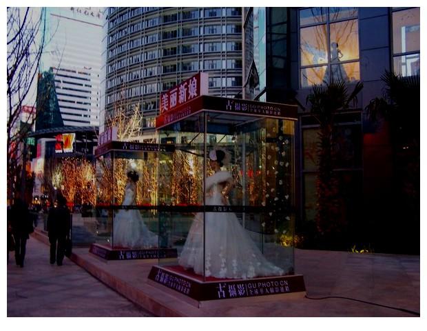 Wedding dresses, Kunming, Yunnan