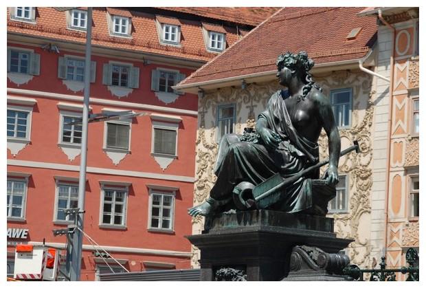 Monument in the city centre of Graz in Austria