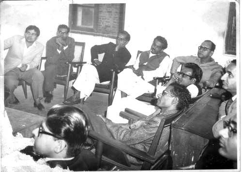 Om Prakash Deepak, Devi Shanker Awasthi & other Hindi writers, 1967-68