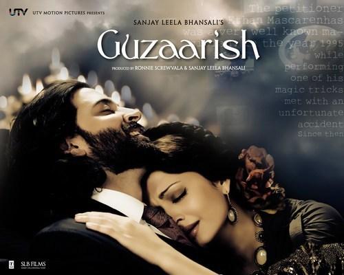 Poster, Guzaarish by Sanjay Leela Bhansali