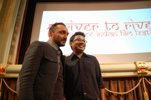 River to River festival 2010, Rahul Bose, Onir