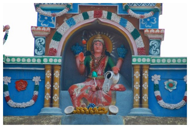 Laxmi statue in a village, Mandya district, Karnataka, India