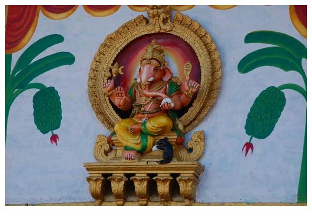 Ganesh statue in Chamundi hill, Mysore, Karnataka, India