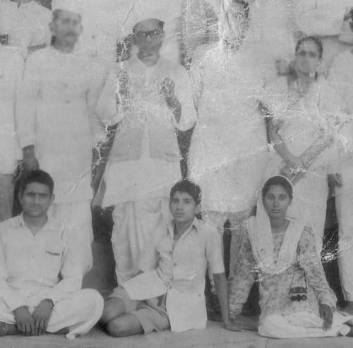 Dr Ram Manohar Lohia, Rama Mitra and Kamala Deepak, 1949
