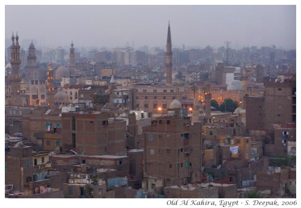 Cairo, Egypt, evening in old city - S. Deepak 2006