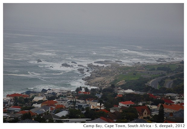 Winter sea in cape town - S. Deepak, 2012