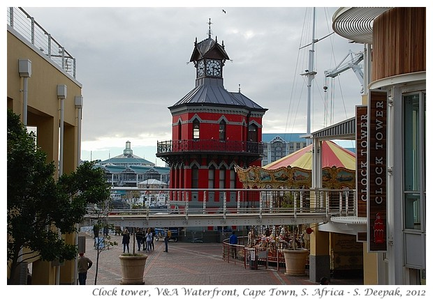 Clock tower, V&A waterfront, Cape Town - S. Deepak, 2012
