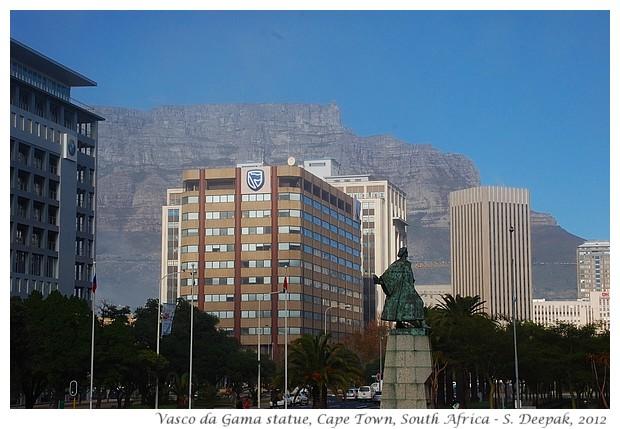 Vasco da Gama statue, Capetown, South Africa - S. Deepak, 2012