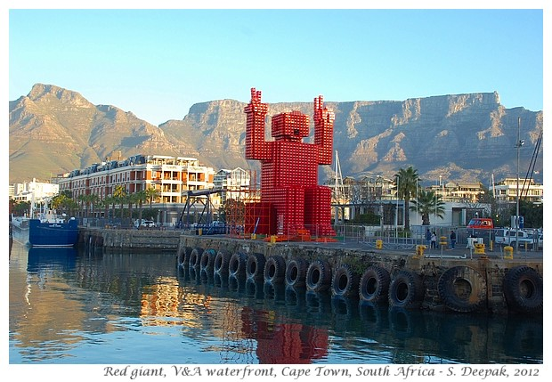 Red Giant, waterfront Cape Town - S. Deepak, 2012