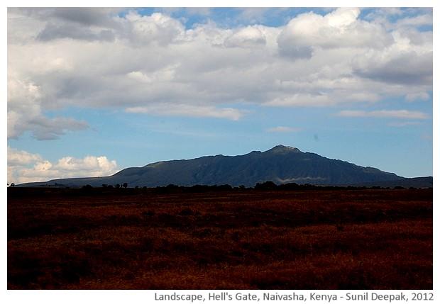 Landscapes, Hell's Gate, Naivasha, Kenya - images by Sunil Deepak, 2012
