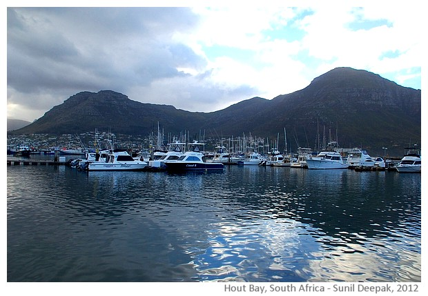 Port, Hout bay, South Africa - images by Sunil Deepak, 2012