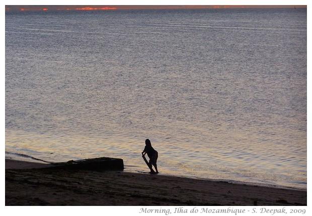 Morning sea - Ilha do Mozambique - S. Deepak, 2009