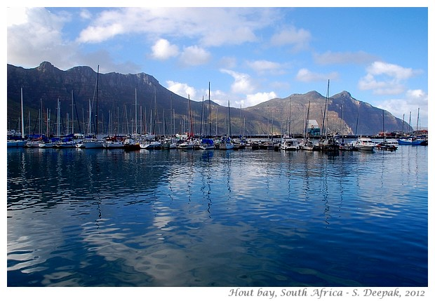 Panorama Hout Bay, South Africa