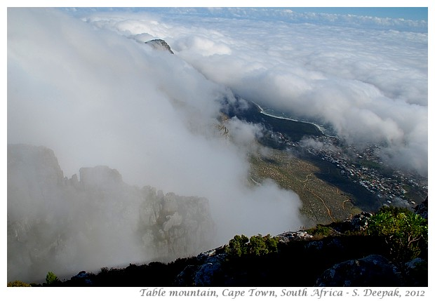 Views from Table mountain, Cape Town S. Africa - S. Deepak, 2012