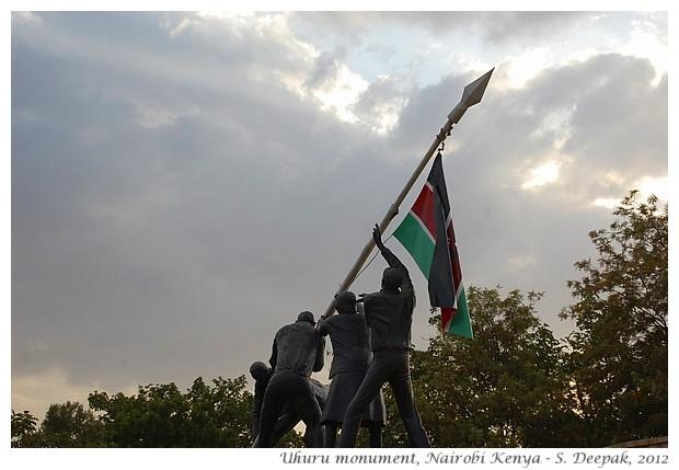 Uhuru monument, Nairobi Kenya - S. Deepak, 2012
