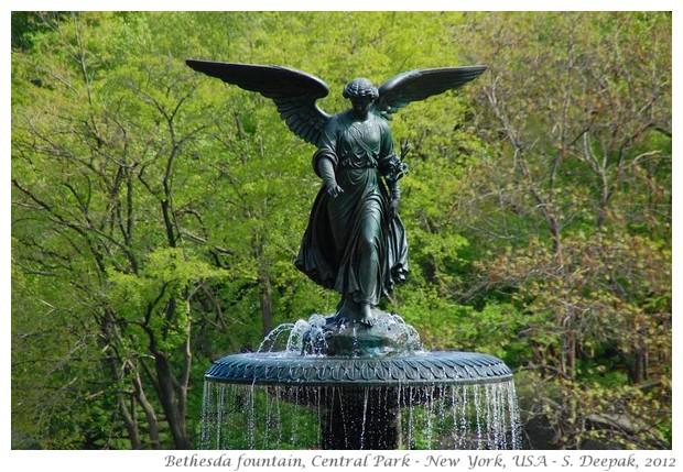 Bethesda fountain New York - S. Deepak, 2012