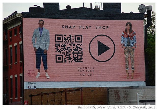 Billboards in Newyork, USA - S. Deepak, 2012