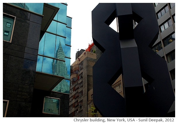 Chrsler building, New York, USA - images by Sunil Deepak, 2014