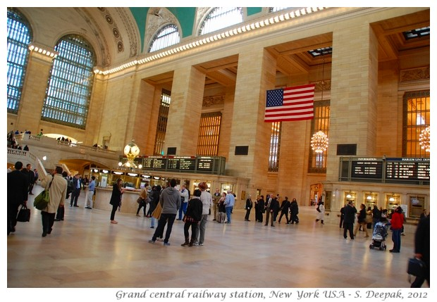 Grand central railway station, New York - S. Deepak, 2012