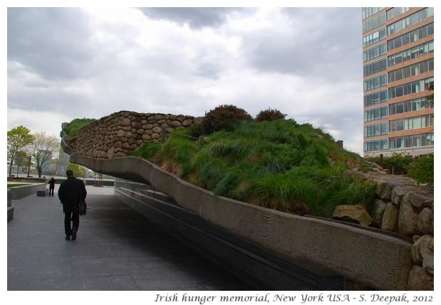 Irish hunger memorial New York - S. Deepak, 2012