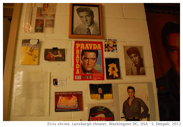 Elvis shrine, Lansburgh, Washington DC - S. Deepak, 2012
