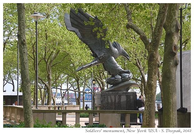 Soldiers monument New York - S. Deepak, 2012