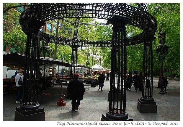 Dag Hammarskjold plaza, New York - S. Deepak, 2012