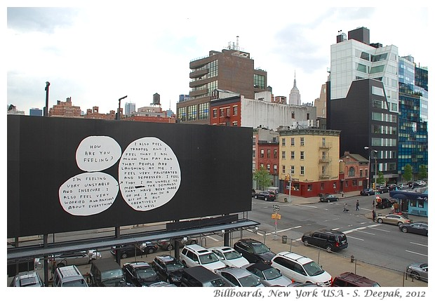 Billboards, New York USA - S. Deepak, 2012