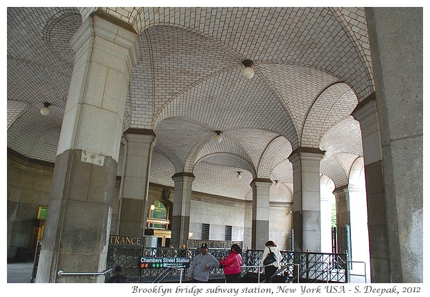 Arches in daily architecture, New York - S. Deepak, 2012
