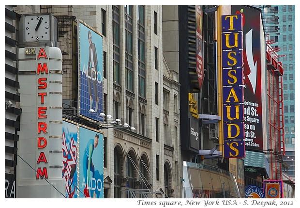 Billboards in Times square, New York - S. Deepak, 2012