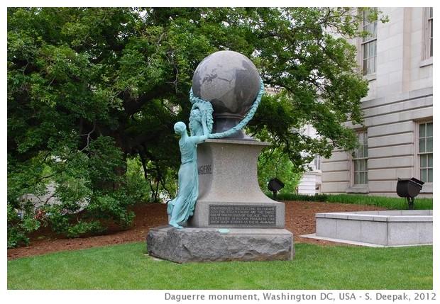 The Daguerre monument, Washington DC - S. Deepak, 2012