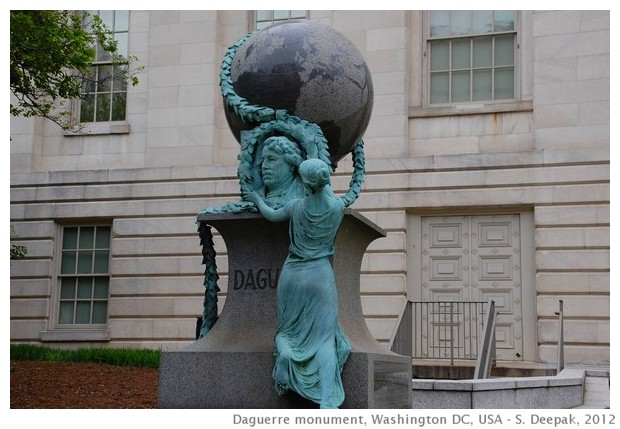 The Daguerre monument, Washington DC - S. Deepak, 2012
