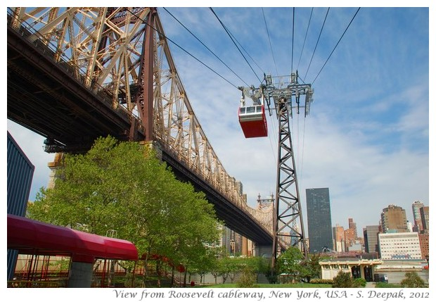 Roosevelt tram, New York - S. Deepak, 2012