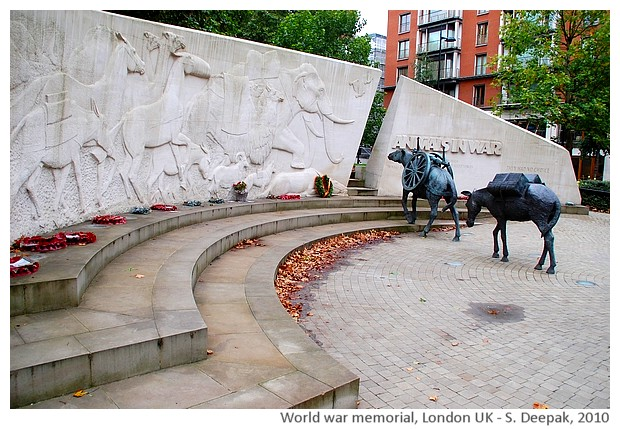 Remembering animals used in wars, London UK - S. Deepak, 2010