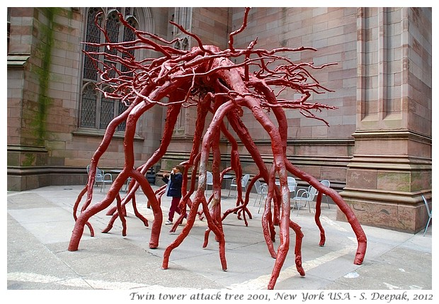 Art in New york, USA - S. Deepak, 2012