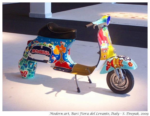 Art installations, Bari trade fair, Italy - S. Deepak, 2009