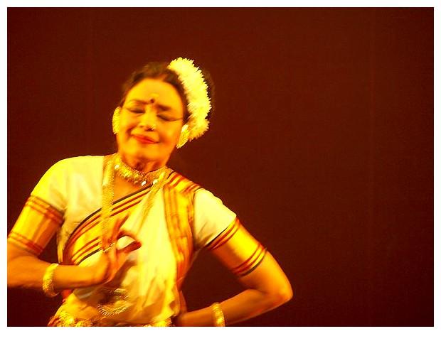 Mohiniattam dance, Bharati Shivaji
