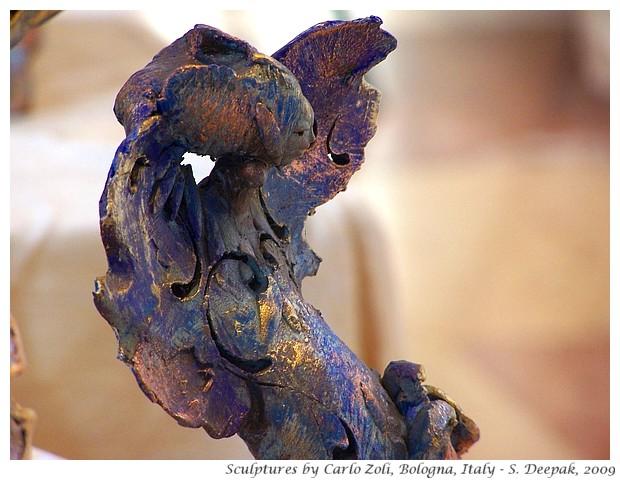 Horses scultures by Carlo Zoli - S. Deepak, 2009