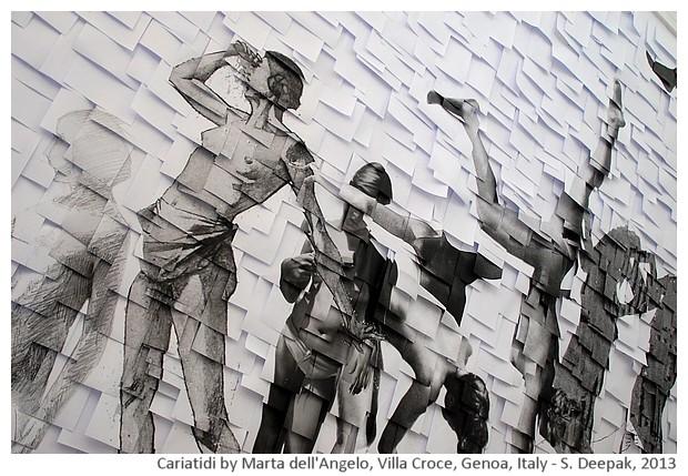 Caryatids by Marta dell'Angelo, Genoa, Italy