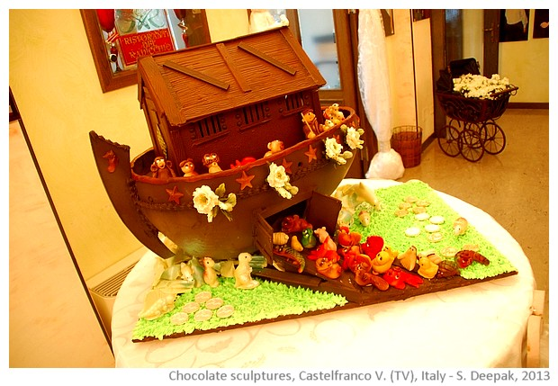 Chocolate Noah's ark, Castelfranco Veneto, Italy - S. Deepak, 2013