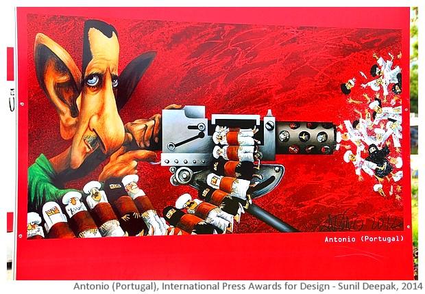International press design awards 2014 exhibition, Geneva, Switzerland - images by Sunil Deepak