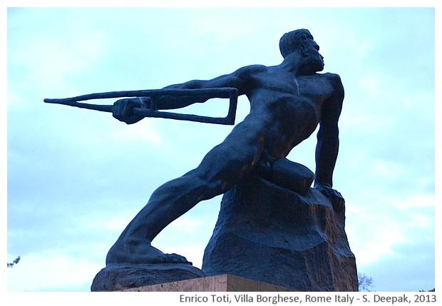 Enrico Toti monument, Rome, Italy - S. Deepak, 2013