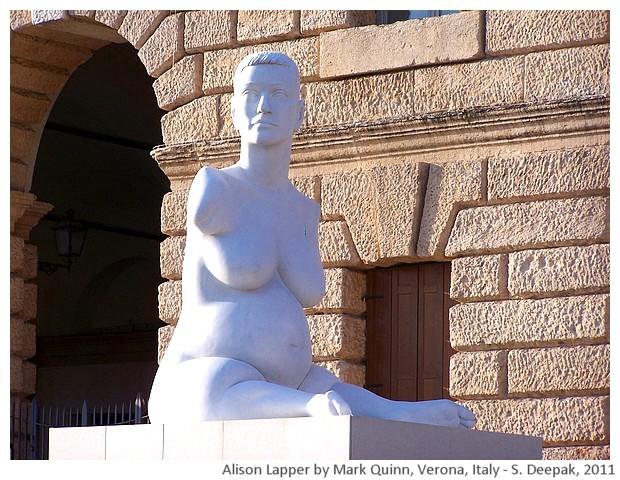Alison Lapper by Mark Quinn, Verona, Italy - S. Deepak, 2011