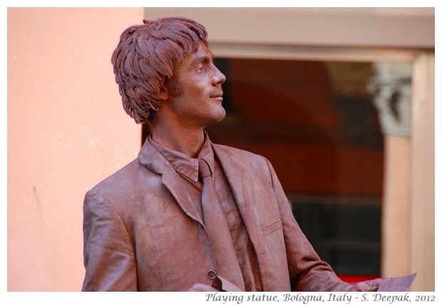 Earthy statue man, Bologna Italy - S. Deepak, 2012