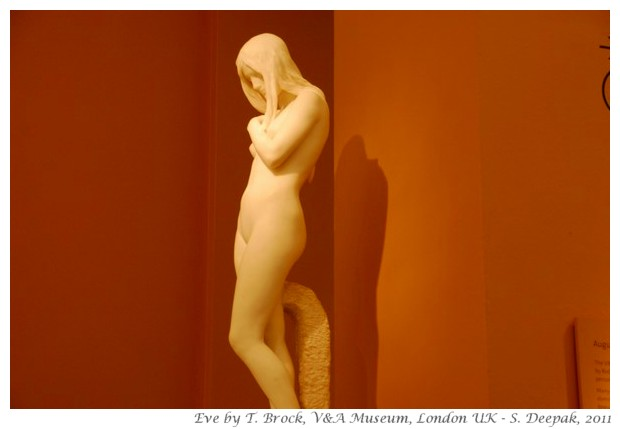 Eve by Thomas Brock, V&A museum London - S. Deepak, 2011