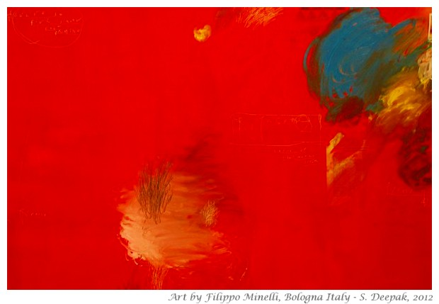 Art by Flippo Minelli - S. Deepak, 2012